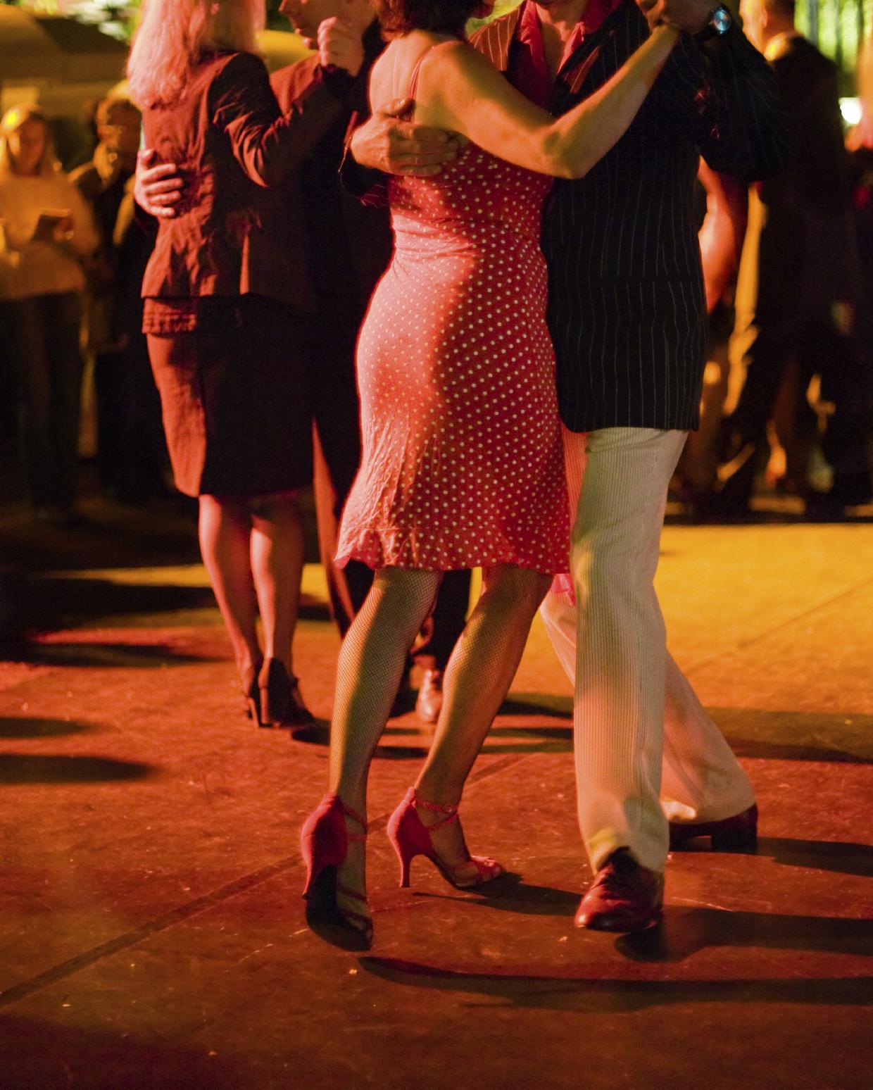 Argentine Tango Milonga At Dance FX Studios In Mesa Arizona