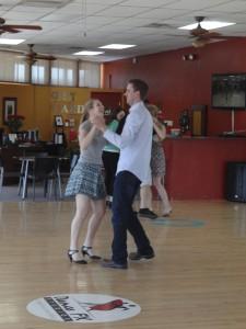 couple dancing for their wedding in Arizona