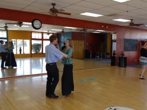 couple dancing at Dance FX Studios in Mesa, Arizona